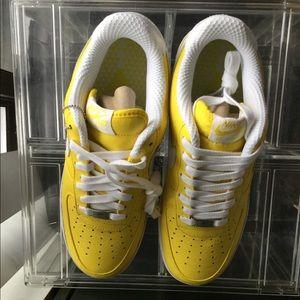 91c7fe8412 Nike Shoes | 2008 Air Force 1 Io Slam Jam Zest Size 9 | Poshmark